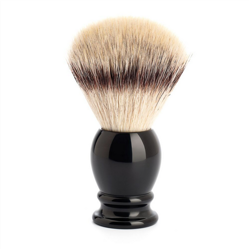 Shaving Brush - Silvertip Fibre - Black